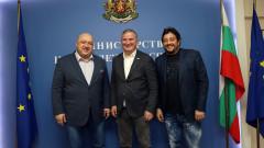Министър Кралев проведе работна среща с новия директор на Sofia Open Горан Джокович