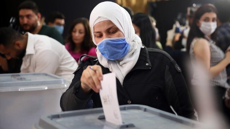 Гласуването на изборите за Сирийския народен съвет (парламент) не беше
