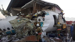 Пътнически самолет катастрофира след излитане в Казахстан