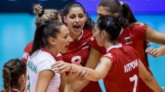 Волейболистките срещнаха неочаквана съпротива от Гърция