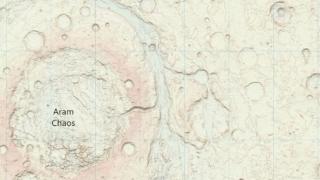 Пуснаха географска карта на Марс