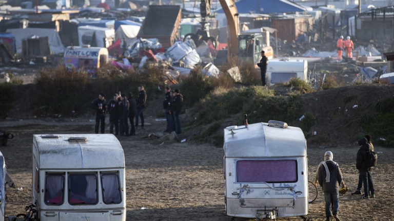 """Новопристигналите мигранти в """"Джунглата"""" няма да бъдат настанявани"""
