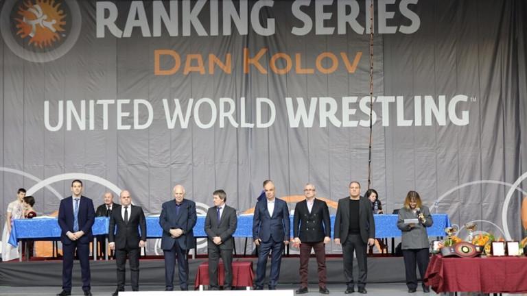 Днес бе открито 57-ото издание на международния турнир по борба