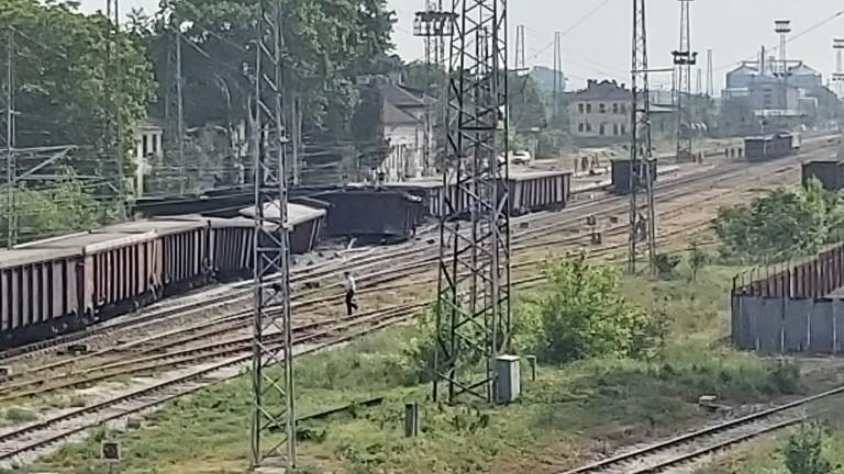 Над един милион лева са щетите за Националната железопътна компания