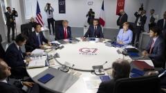 Бедното меню на Г7: царевицата на Тръмп, виното на Макрон