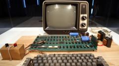 Компютър Apple-1 бе продаден на търг за $375 000