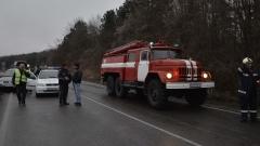 Верижна катастрофа затвори за часове пътя Микре - село Сопот
