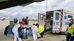 """Военни транспортираха със """"Спартан"""" бебе за лечение във Франция"""