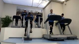 Черно море тренира във фитнеса преди битката с Ботев (Пловдив)