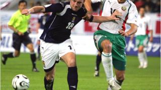 България катастрофира срещу Шотландия