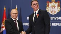 """В Белград Путин гарантира за """"Турски поток"""" и припомни съдбата на """"Южен поток"""""""