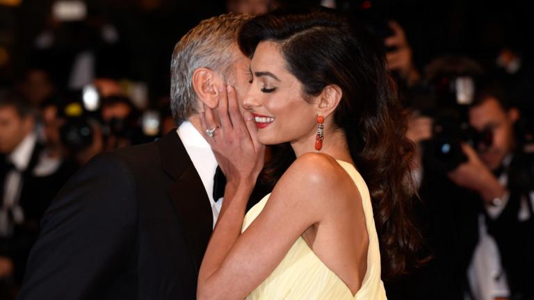 Джордж и Aмал Клуни са сред любимите ни звездни двойки