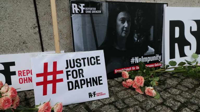 Правителството на Малта е отговорноза убийството на журналиста Дафне Галиция