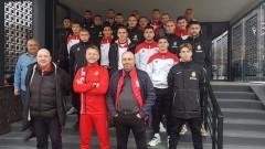 Посрещнаха играчите на Беласица като герои след мача с Локомотив (Пловдив)