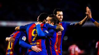 Серхио Бускетс: Срещу Валенсия Барса заслужаваше три точки, не една