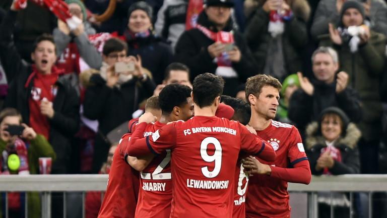 Байерн (Мюнхен) приема Ливърпул в осминафинален мач-реванш от Шампионската лига.