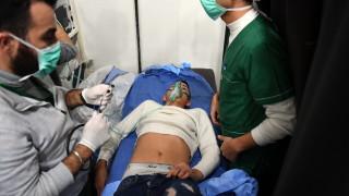 Бойни самолети на Сирия удариха бунтовниците след предполагаемата химическа атака