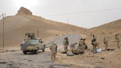 """Освободиха Палмира от """"Ислямска държава"""""""