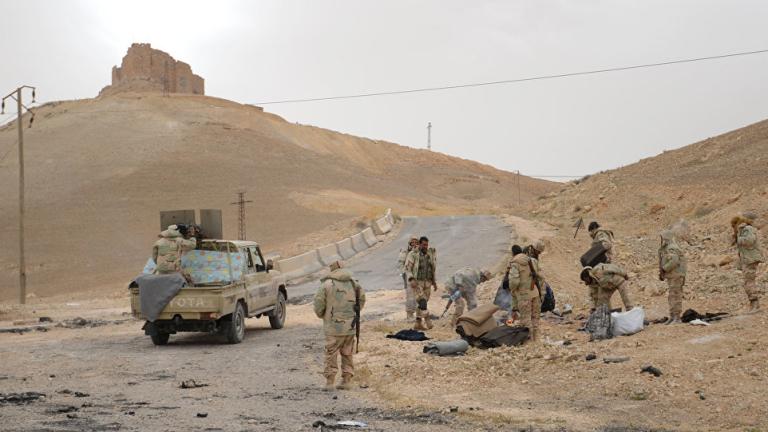 Най-малко 30 сирийски армейски войници и подкрепяни от иранците милиционери