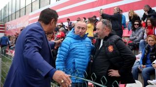 Мъри Стоилов празнувал промоцията на Царско село в Първа лига