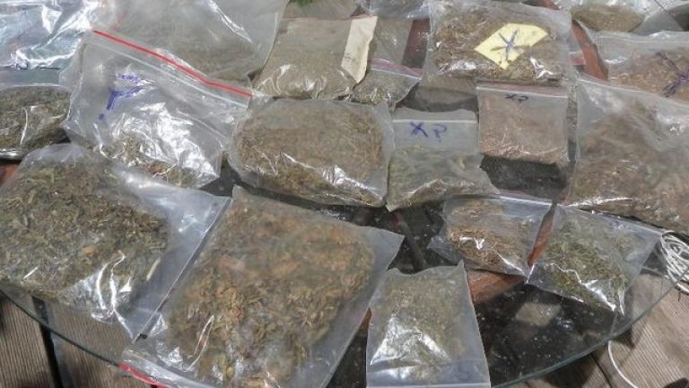 Столичната полиция разкри домашна оранжерия за коноп в частен дом.
