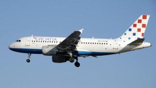 Хърватските авиолинии губят по €800 000 на ден заради стачка