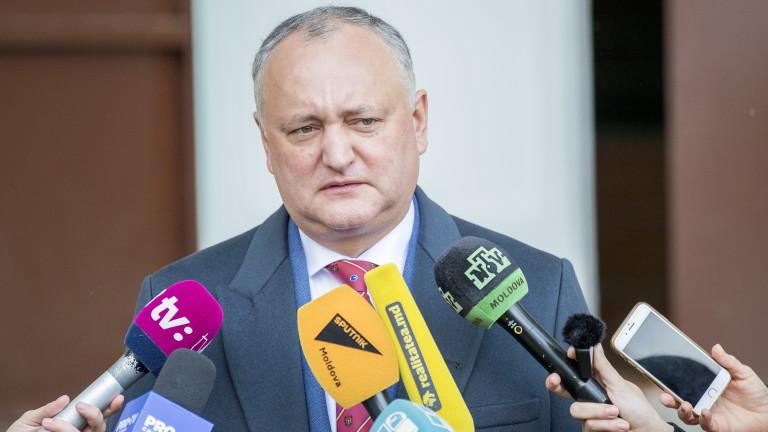 Управляващата коалиция в Молдова е пред разпад едва няколко месеца