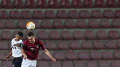 Мартин Минчев дебютира в Лига Европа, но Спарта (Прага) падна тежко от Лил