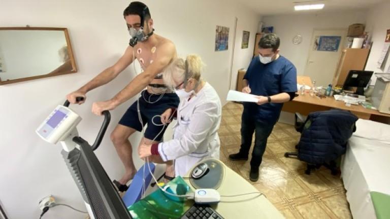Футболистите на Черно море преминаха задължителни медицински изследвания