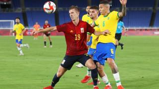 Бразилия защити олимпийската си титла в мъжкия футбол след продължения срещу Испания
