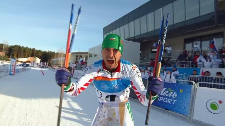 Станимир Беломъжев спечели първа световна титла и счупи щеките си с мощен вик! (ВИДЕО)
