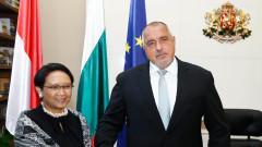 Борисов се надява на взаимодействие в областта на високите технологии с Индонезия