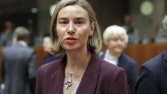 Могерини: Преговорите с Турция продължават