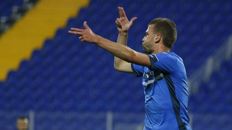 Нападателят Венцислав Христов вече е футболист на Славия. Той е