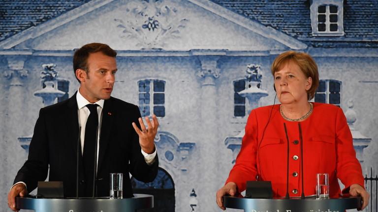 Меркел и Макрон обезпокоени от ситуацията в Сирия