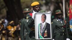 Президентът на Зимбабве Роберт Мугабе е държан като заложник