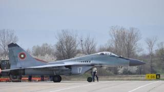 F-16 на САЩ тренираха въздушен бой с българските ВВС и МиГ-29