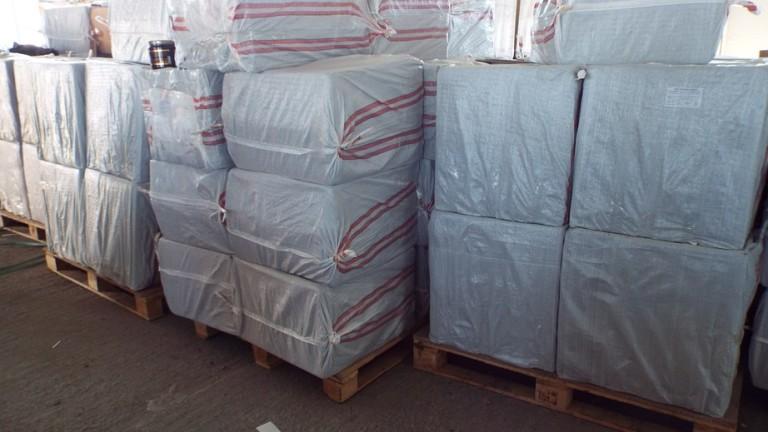 Общо 30 000 кг незаконен тютюн за наргиле задържаха в