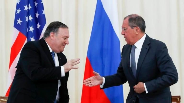 Помпео ще се срещне с Лавров в ООН в петък