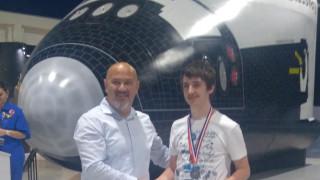 Наш ученик с медал от космическия лагер в Турция