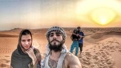 Венци Венц заведе Пепи в пустинята