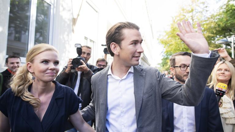 Австрийските консерватори печелят изборите