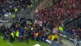 Срути се част от трибуна на стадион във Франция, има пострадали