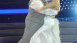 Люси се преби на сцената