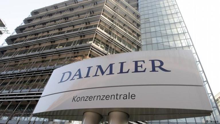 """Полиция и прокурори обискираха 11 офиса на """"Даймлер"""""""