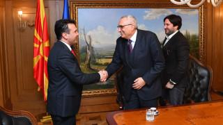 Зоран Заев се съветва с Иван Костов за евроинтеграцията
