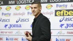 Десподов: До лятото не искам да се чува за мой трансфер, дано ЦСКА играе в Европа