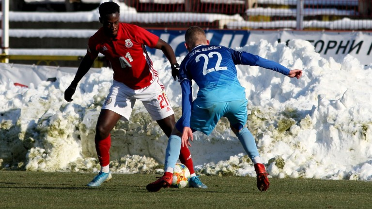 Офанзивният футболист на ЦСКА Едвин Джеси е пред трансфер в