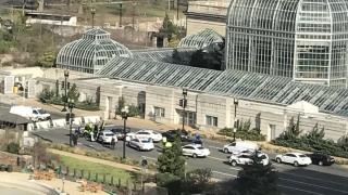 Стрелба край Конгреса на САЩ, мъж гази полицаи