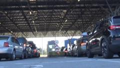 """Пореден ден с опашки от коли на """"Капитан Андреево"""" преди въвеждането на новите мерки"""